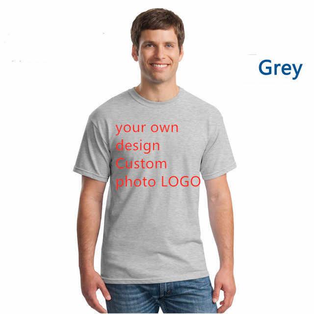 100% Katoen T-shirt Korte Mouw Heren T-shirt Print Casual Mannen T-shirt Custom Logo Speciale Print Mannen T-shirt