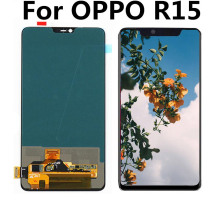цены For OPPO R15 Full LCD Display Screen Touch Digitizer Assembly For R15 Dream Mirror Edition / R15 DME 4G+ TOUCH Screen