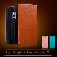 Для OnePlus Two OnePlus 2 5.5 дюймов Чехол Флип Кожа PU caseFor OnePlus Two Oneplus2 Стенд Крышка