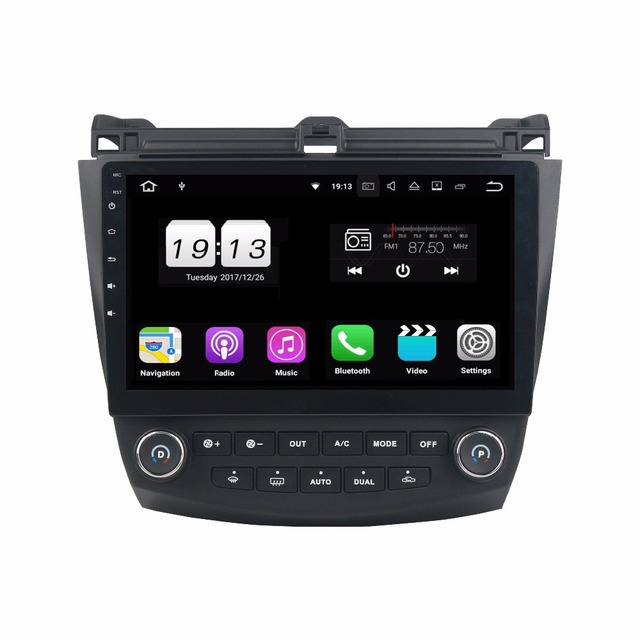 1 Din 10 Android 8 0 6 Car Radio Gps Multimedia Head Unit For Honda Accord 7 2003 2004 2005 2006 2007