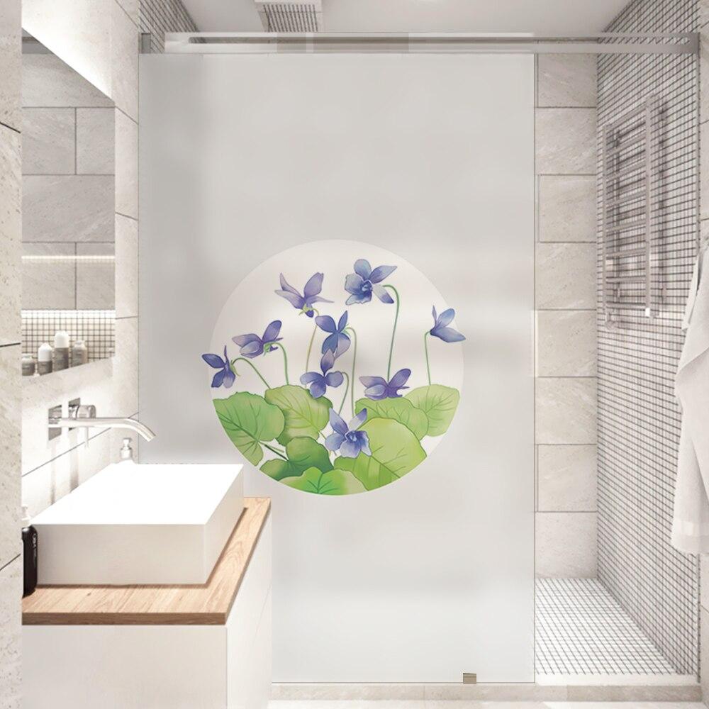 Dicor Free Shipping New Glass Film Window Sticker Transparent Opaque Creative for Home Decor Living Room No Glue poster BLT1726
