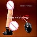 Remoto Consolador Vibrador de Silicona Vibrador Oscilación Pene Consoladores para Las Mujeres Productos Del Sexo Huevo Vibrador Vibradores Femininos