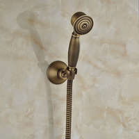 Wholeasle And Retail Bathroom Hand Shower Antique Brass Solid Brass Wall Mounted