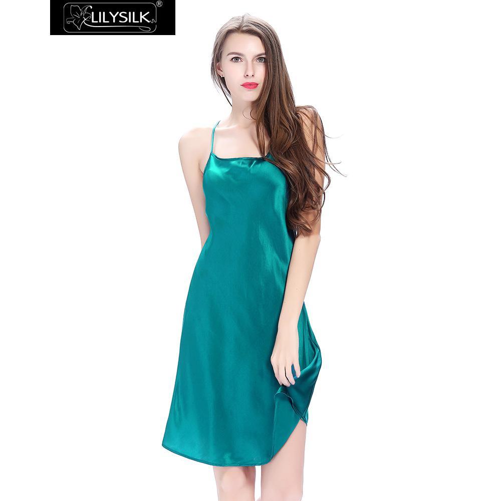 dark-teal-22-momme-crossed-back-silk-nightgown-04