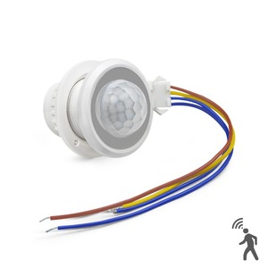 Smart LED Ceiling light Bulb Switch PIR Infrared Motion Sensor Detector Switch 110V-220V Auto ON/OFF with Time Delay Adjustable(China)