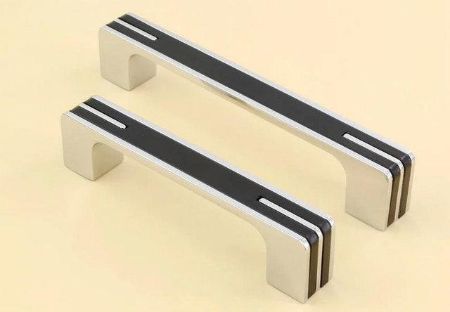 Modern Black Dresser Handles Drawer Pulls Knobs Handles Cabinet
