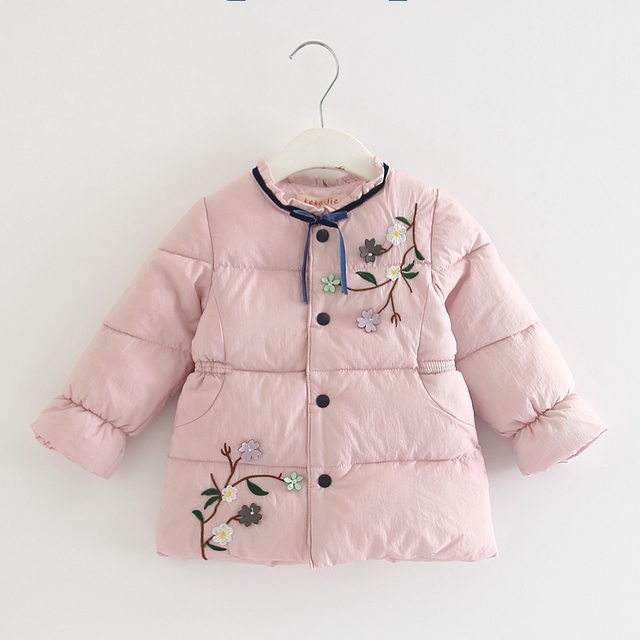 c67d717a7 Children Outerwear Winter Warm Baby Girls Coat Infant Baby Parkas ...