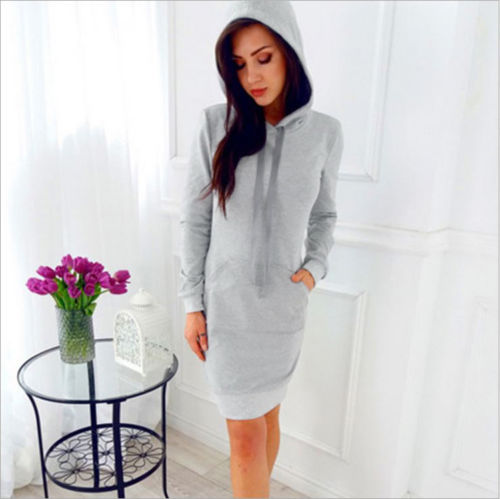Autumn-Women-Fashion-Silm-Fit-Casual-Dresses-Winter-Hooded-Hoodies-Sweatshirt-Long-Sleeve-Dress-Solid-Color (3)