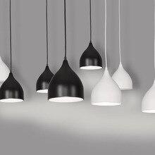 Modern Art Pendant Lamps Led painted aluminum Classic Pendant Dining Room Light Modern Pendant Bar Beat Light Chandelier Lights