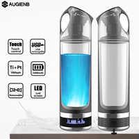 Augienb, здоровый, антивозрастной, водородный, богатый, бутылка для воды, генератор, 500 мл, светодиодный дисплей, водородный генератор, ионизатор...