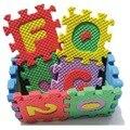 36 Шт. Красочные Мини Размер Алфавита Головоломки Обучающие Игрушки Алфавит Письма Цифра Пенном Матраце Для Возраста 1 ~ 7 M0070 P10 0.5
