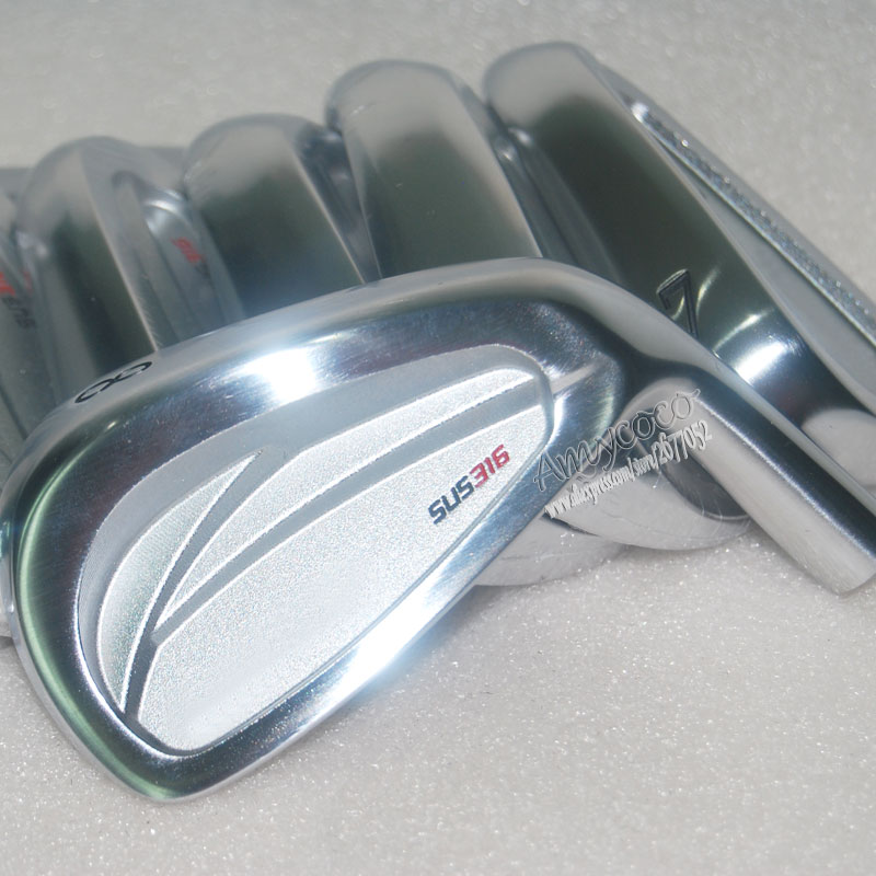 New A limited edition of  Golf head SUS316 Golf irons set  4-9P golf Clubs head no shaft Free shipping