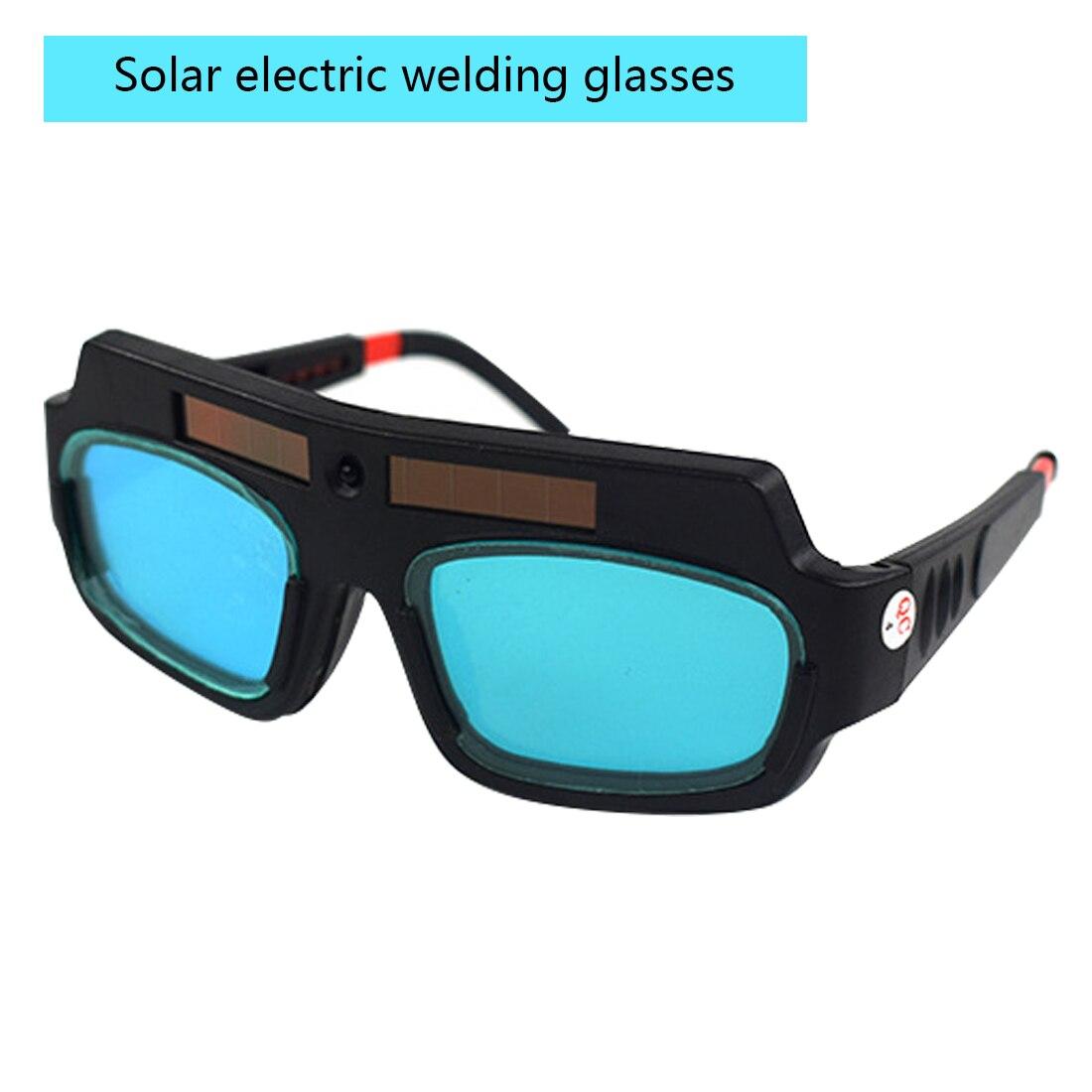 1 шт. ОТличные очки для защиты от сварки на солнечных батареях Автоматическая Затемняющая Сварочная маска шлем Очки сварщика дуговые линзы
