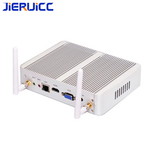 Cheapest Fanless Nuc Core  i3 7100U i5 7200U  DDR3L Mini PC Linux Windows 10 Pro Graphics HD 620 4K HTPC HDMI VGA Computer