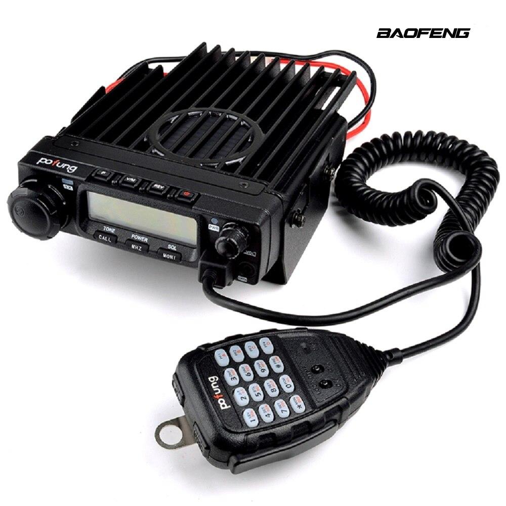 BAOFENG 9500 Mobile Radio 50W Transmit Power CTCSS/DCS/DTMF Transceiver UHF 400~470Mhz Car Scanner