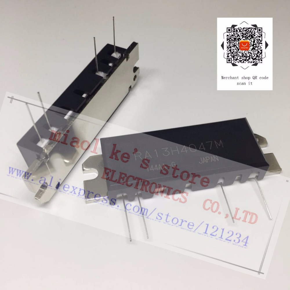 100%New original; RA13H4047M RA13H4047M 101 [ RF MOSFET MODULE, 400 470MHz 13W 12.5V, ]