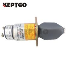 Fuel Shutoff ShutDown Solenoid Valve For Kubota 3A 2 terminals 31-0202 SA-4259-12 12V 1751-12A6U1B1S5 цена