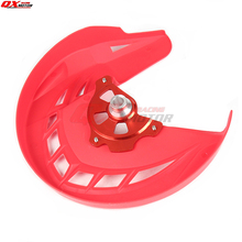 цена на Motorcycle Front brake disk protective cover For CRF 250L CRF250L 2012-2016 MX Motocross Off Road Motorcycle Free shippng