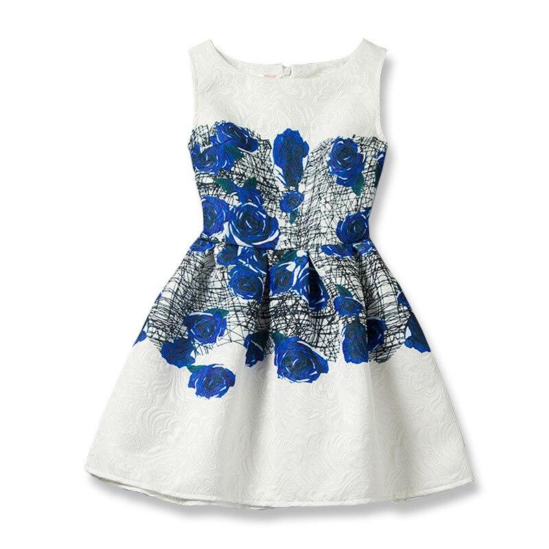 Kids Girls Dresses Butterfly Sleeveless Princess Dresses for Kids Clothes Baby Girl Tutu Dress Fashion Kids Clothing Vestidos 5