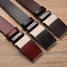 Automatic Buckle Leather Belt For Men – 90cm-125cm
