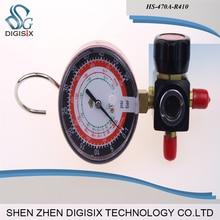 Free shipping Hvac 1-way Manifold gauge HS-470A-R410 Single Gauge For R410 With 2pcs High Pressure Hose hvac 1 way manifold gauge hs 470a r410 single gauge for r410 with 2pcs low pressure hose