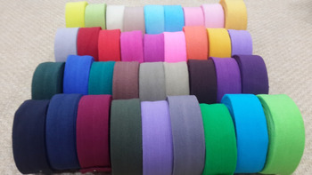 Free Shipping! 300yards/lot Baby Girls hair Fold Over Elastic 5/8'' 1.5cm FOE Girl DIY Stretchy Shiny Band For Hair Accessories
