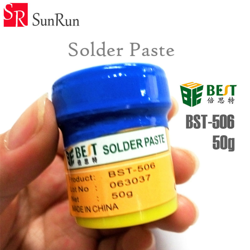 BEST BST-506 Solder Paste BGA Soldering Paste Repair Solder Tin Cream Welding Fluxs Seal Grease Tools цена