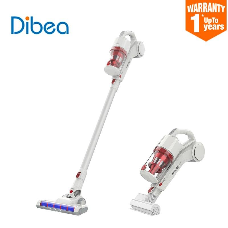 Dibea DW200 Pro aspirateur maison voiture portable sans fil 17000Pa aspiration cyclone poussière nettoyant ménage multifonctionnel brosse-in Aspirateurs from Appareils ménagers    1