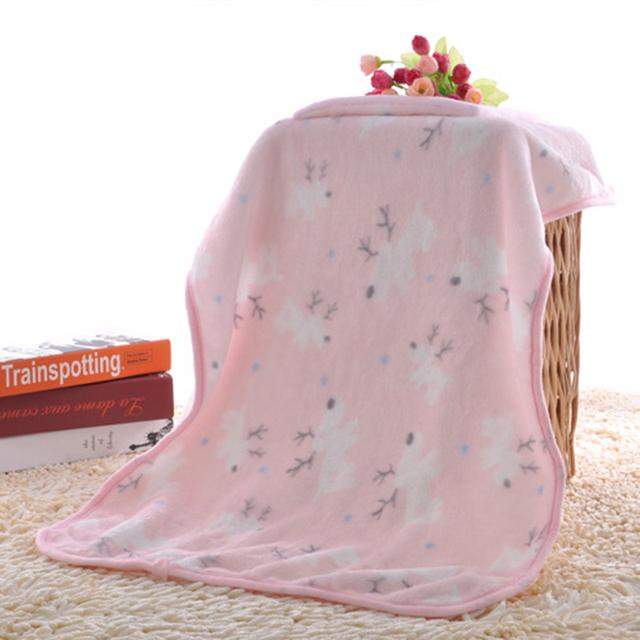 Personalizado Para Niños de dibujos animados almohada manta multifuncional manta de franela doble cara coral polar manta almohada de terciopelo bebé swaddle