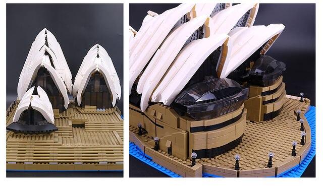 Online Shop 2989pcs Lepin 17003 Creator Expert Sydney Opera House