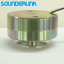 Sounderlink caixa de som, 1 peça, 2 polegadas, 50mm, 25w, alta potência, resonância, vibração, alcance total, avião, alto falante faça você mesmo