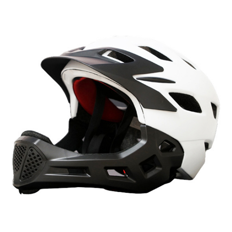 Adult Full Covered Kids Helmet Balance Bike Children Full Face Bicycle Helmet Cycling Motocross Downhill MTV DH Safety Helmet 12 14 16 kids bike children bicycle for 2 8 years boy grils ride kids bicycle with pedal toys children bike colorful adult