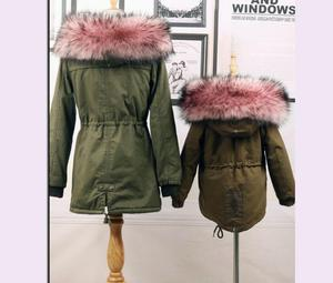 Image 5 - Autumn and winter womens Faux fur collar cap fox fur big collar raccoon fur collar muffler scarf cape thicken warm scarf