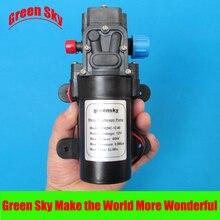 5L/Min DC return valve type high pressure diaphragm pump 12v 60w