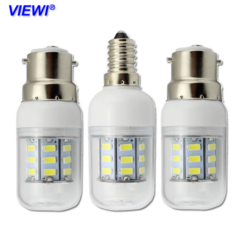 Viewi 10x E27 e14 B22 led bulb light 110v 220v 12v 24v 5W home lighting 5730 27 leds energy saving lamp 360 degree bulbs ampoule smuxi e27 3 5w led bulb 27 5730 smd energy saving corn light lamp with frosted cover pure warm white home lighting 24v
