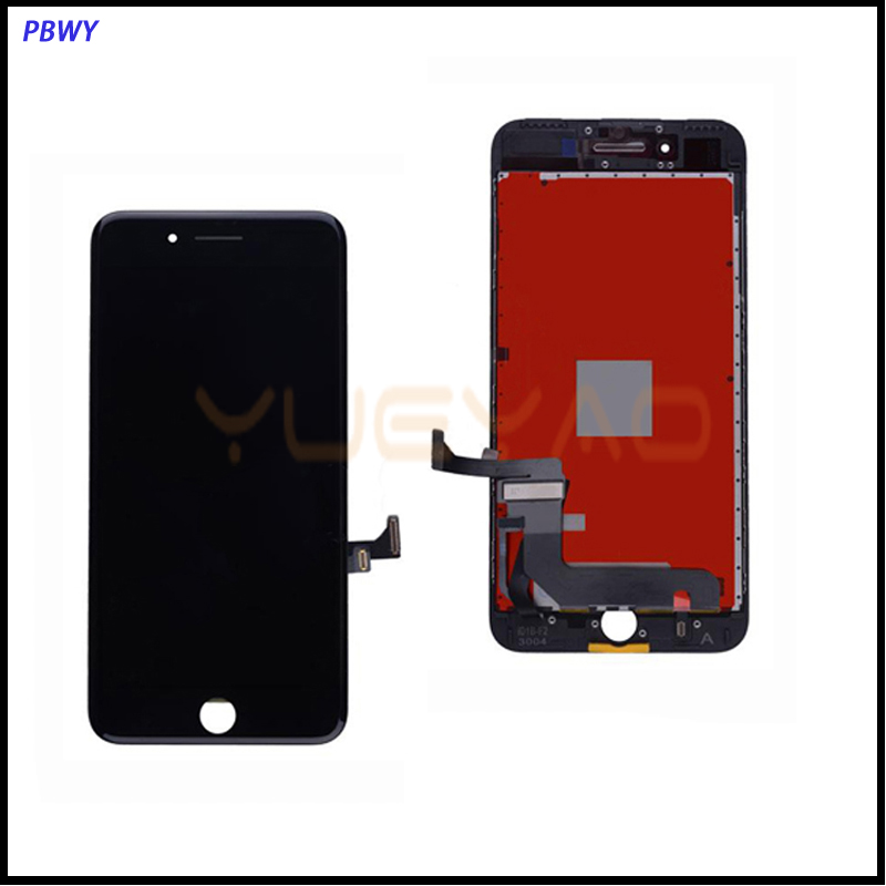 3D Touch AAA+++ Quality For iPhone 7 Plus LCD Screen Display with Touch Digitizer Assembly Replacement, Free DHL mllse for iphone 6 plus lcd screen with touch digitizer assembly replacement grade aaa quality mobile phone display free dhl