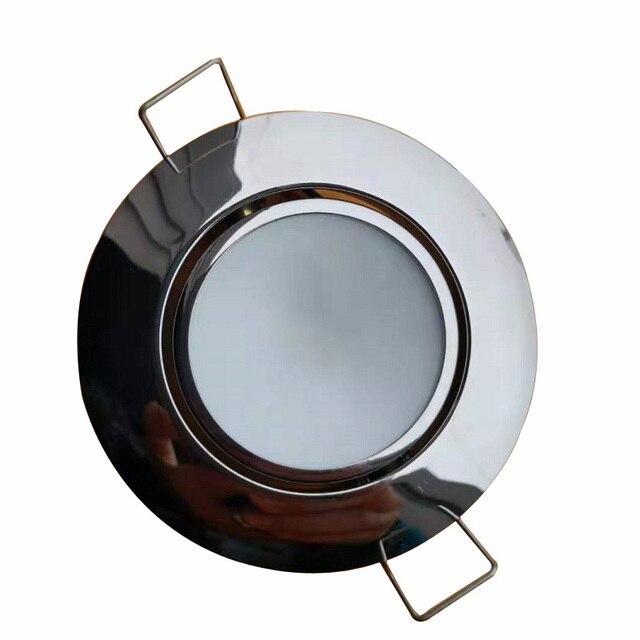 RGB 4 色 Led マリンボートドームライト 12 ワットステンレス鋼の天井ランプモーターホームアクセサリー IP65