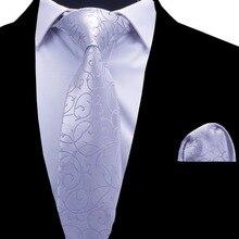 RBOCOTT Floral Ties Men's Tie H