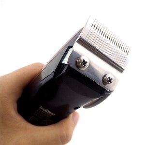 Image 5 - Профессиональная электрическая машинка для стрижки волос, высокомощный триммер из нержавеющей стали для мужчин, 25 Вт