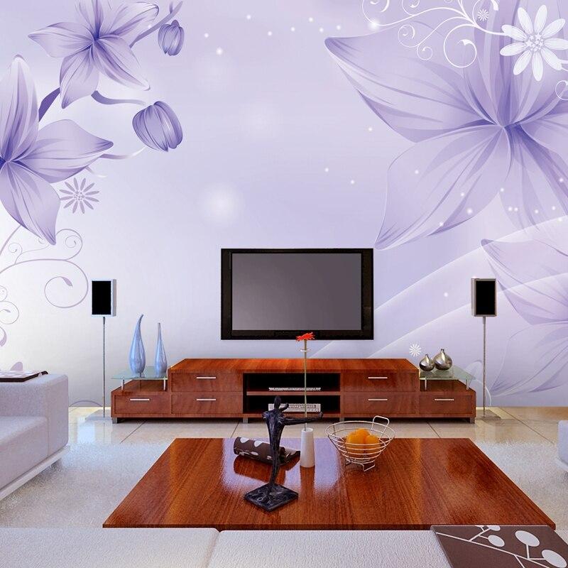 photo papier peint grande fresque chambre salon tv fond murale papier peint dcoration fleur papillon personnalis papier peint
