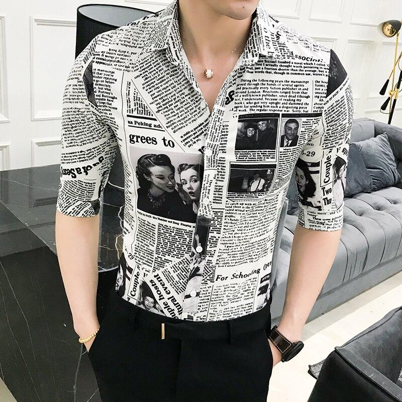 Mens Smart Casual Pocket Half Sleeve Top T shirt Slim Fit Summer Party