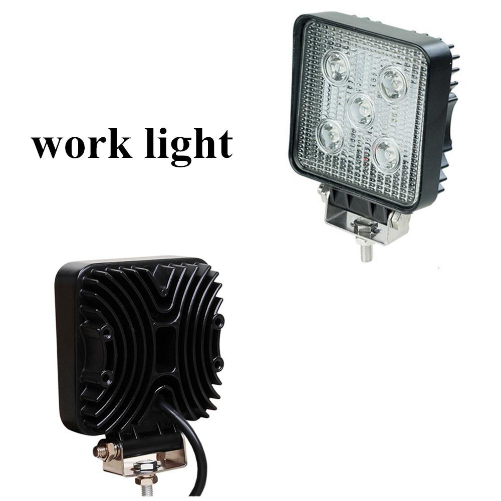 ФОТО best selling 4inch 2pcs 10-30V 15W Car Work light Spot beam 4x4 4WD Tractor off road Car Vehicle ATV LED Work light lamp