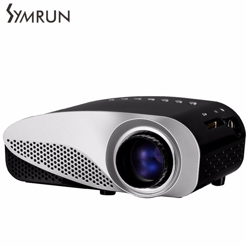 Dual HDMI SD USB AV VGA Video Movie Proyector Full HD Easy Micro Projector EMP GP8S LCD Mini Portable 4K bluetooth 4 0 android 4 4 wifi 6500lumens hdmi vga usb blue ray 3d portable hd 1080p lcd video led mini dlp 4k projector