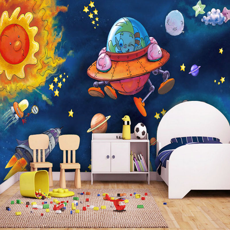 Compare prices on galaxies wallpapers online shopping buy for Custom mural cost