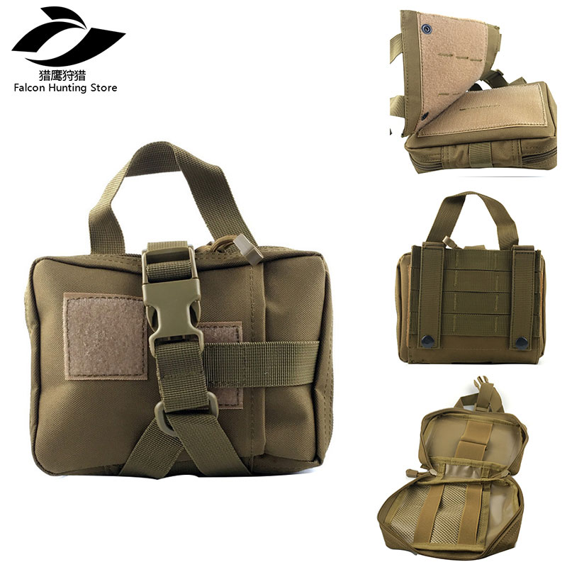 TACTIFANS Tactical Molle First Aid Pouch Bag Medical Pouch