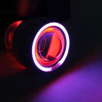 2.5'' inch 35W HID Bixenon Projector Lens Red Devil Eyes Purpl Angel eyes ABE