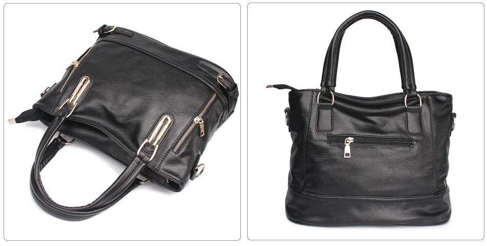 couro macio crossbody saco feminino casual bolsas