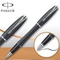 6 Colores Pluma Parker Roller Ball Pen Stationery Plata/Oro Clip Parker Urban RollerBall Pluma de Escritura de Negocios de Lujo