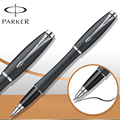 6 Colors Parker Pen Roller Ball Pen Stationery Silver / Gold Clip Parker Urban RollerBall Pen Luxury Business Writing Supplies