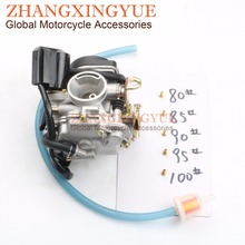 купить 19mm PD19J carburetor for Kymco Agility 50 People S 50 Super 8 Vitality Yager 50cc 4T 139QMB/139QMA недорого